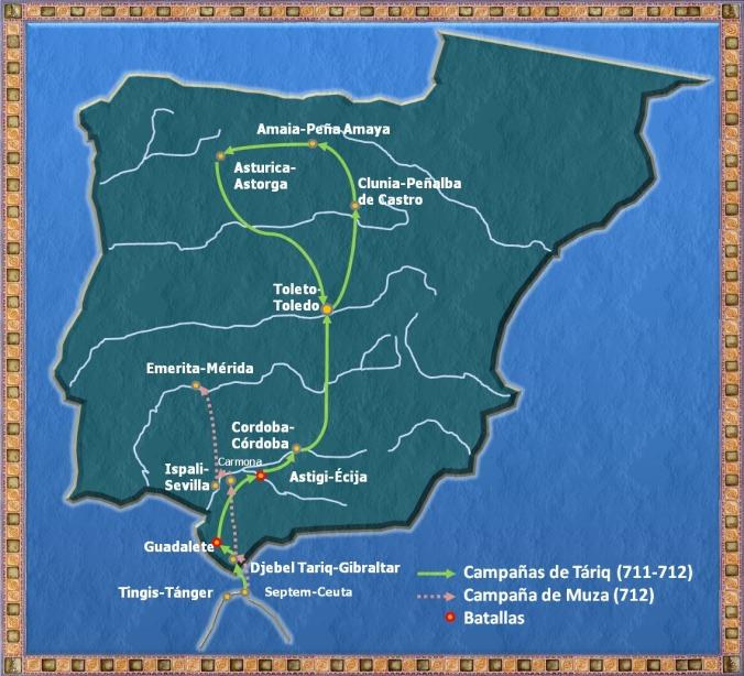 conquista-arabe-campanas-de-tariq-y-muza
