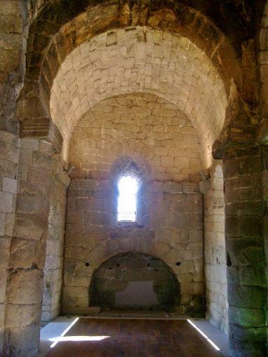 Santa María de Melque. Arco soleo