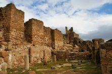 Ciudad de Vascos. Muralla de la alcazaba