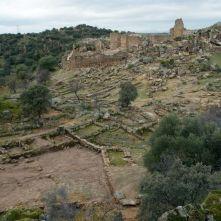 Ciudad de Vascos. Vista de la alcazaba