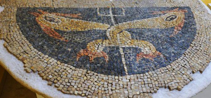 Villa romana de El Saucedo. Mosaico