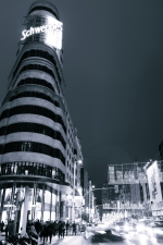 Madrid - Gran Vía por la noche